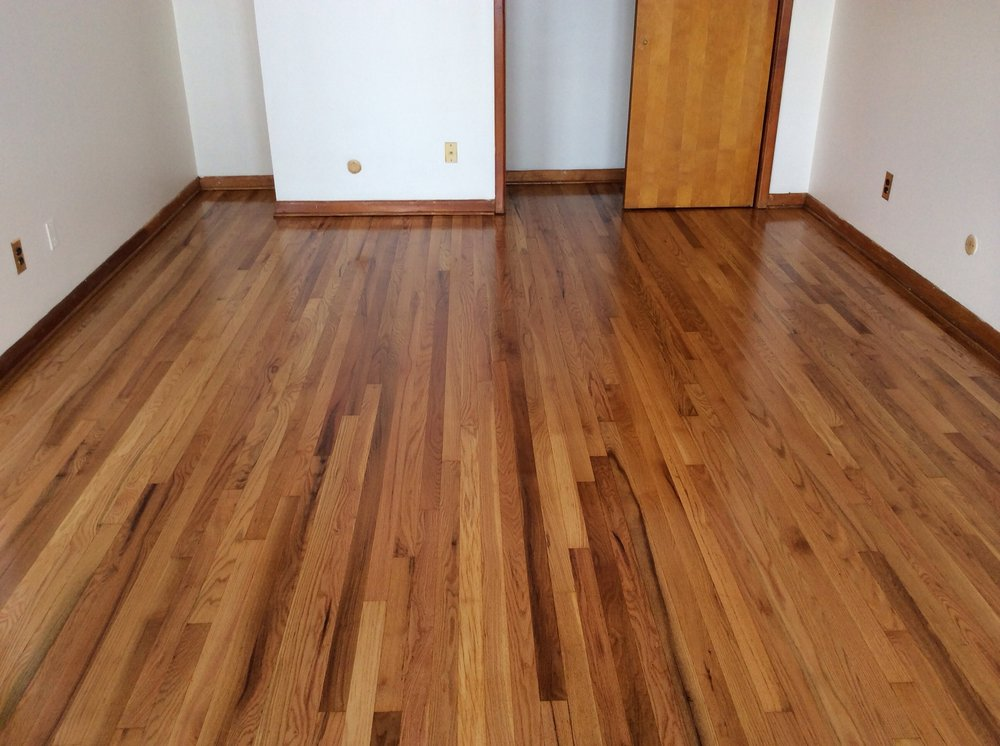 Hardwood floor estimate larry paula s new wood floor new for Wood flooring cost estimator